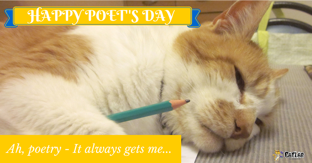 Happy Poet's Day wishes